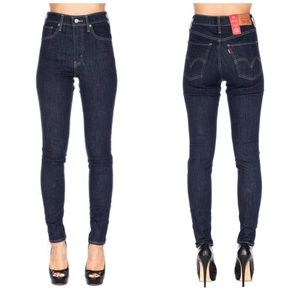 Levi's mile high super skinny cropped jeans